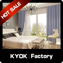 KYOK High Quality Factory Price wholeslae Window Curtain ,blackout curtain