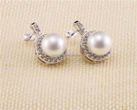 South sea pearl earrings newest design for elegant women