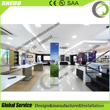 SO customized design mobile display electronic shop decoration