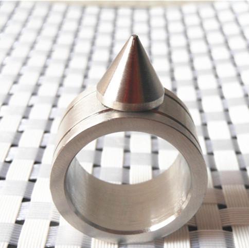 Цинковый сплав самообороны продукт самообороны шокер оружие кольцо можно использовать как брелок и ожерелье