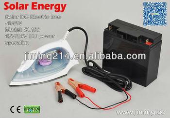Dc Powered Electric Solar Energy Dc 12v Solar Iron Sl100