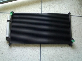 Auto Fin Tube Microchannel Heat Exchanger For Car Air