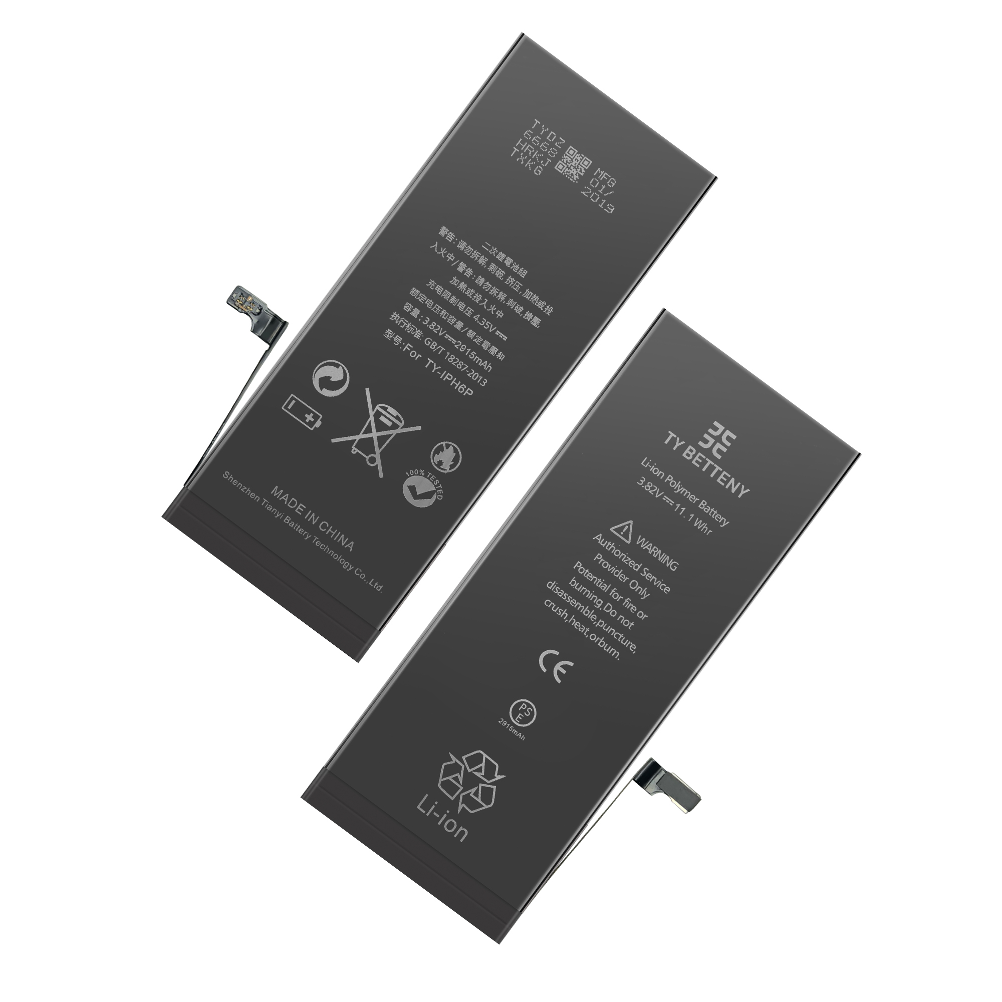 Factory OEM 100% New replacement original battery for iphone 6 6s 6p 6sp 7 7p plus battery batteries