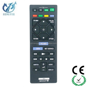 NEW MODEL dvd player remote control Remote FOR sony blue ray DVD remote control TV RMT-B127P