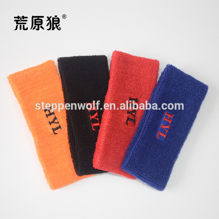 Manufacturer Supplier basketball cotton headbands manufactured in China