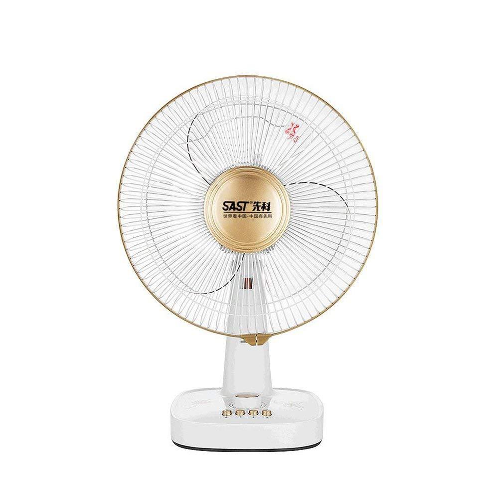 FH Electric Fan Desktop Household Table Fan Timing Student Dorm Room Fan Office Mute Shaking His Head Electric Fan 12 Inches