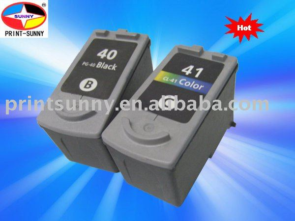Compatible canon ink cartridge for CANON 40,41