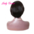 Ali Cheveux Best price 100 human natural hair wigs with heavy bang bob style NO.7