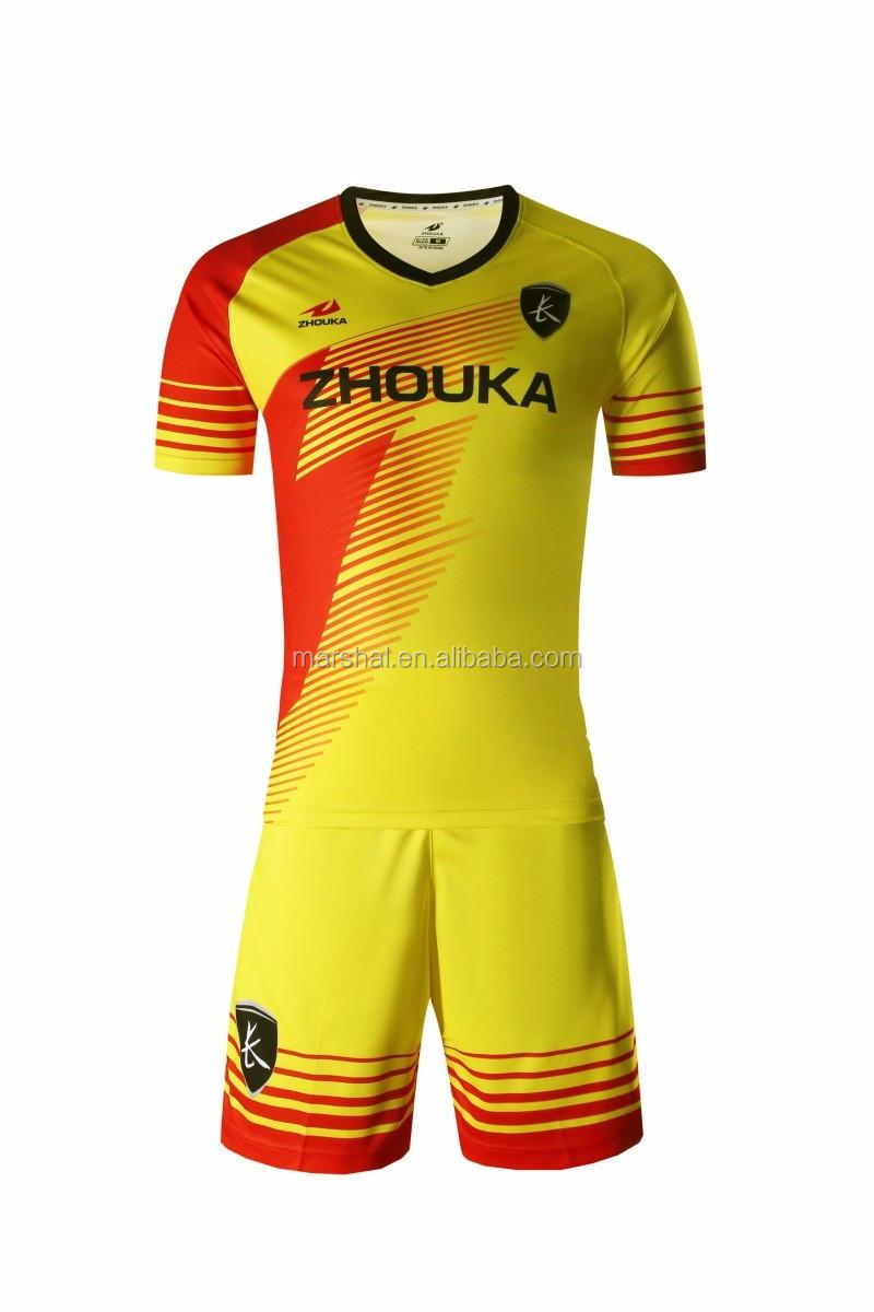 Latest Football Jersey Designsorange Soccer Shirtwholesale