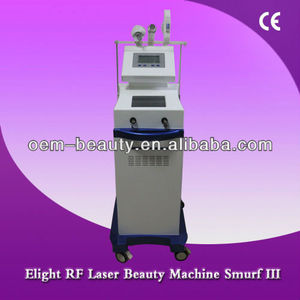 Permanent Hair removal Beauty&Personal Care E-light/RF/Laser machine aim at various facial rejuvenation (LJL-III)