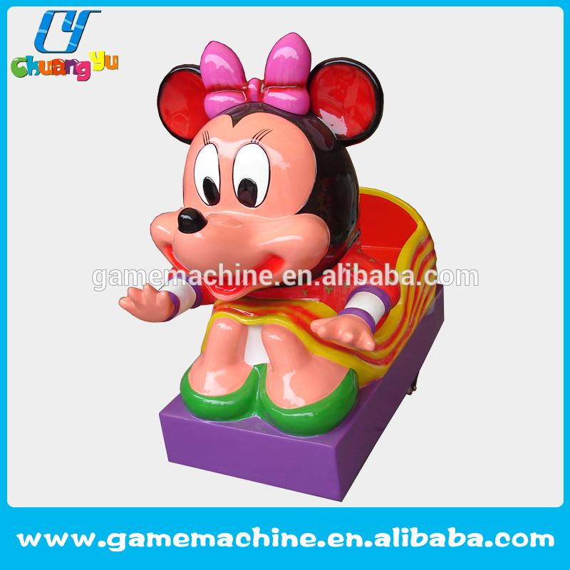 kids electronic arcade gift crane game machine Amusement manufactory Mick mouse game machine kiddie ride zoo land kiddie rides