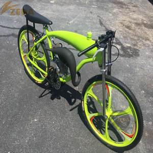 ZEDA Motorized Bicycle With Mag Wheel,Gasoline Engine Bicycle,Gas Bike 26inch Built In 2.4l Gas Frame/ Gasoline Bicycle