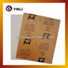 compound resin as adhesive Waterproof abrasive paper made from kraft paper
