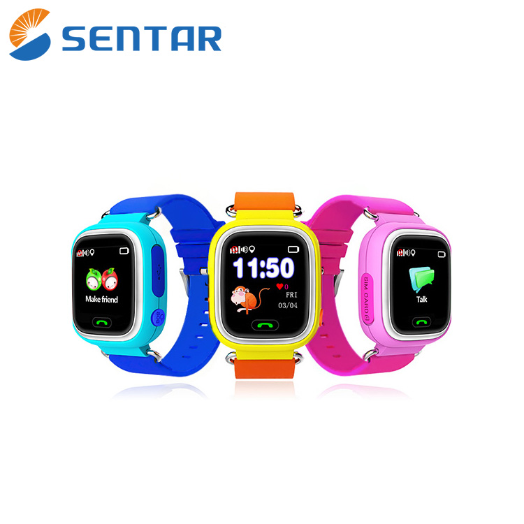 Voice Communication Smart Home Security System Micro GPS Tracking Chip Kids GPS Watch
