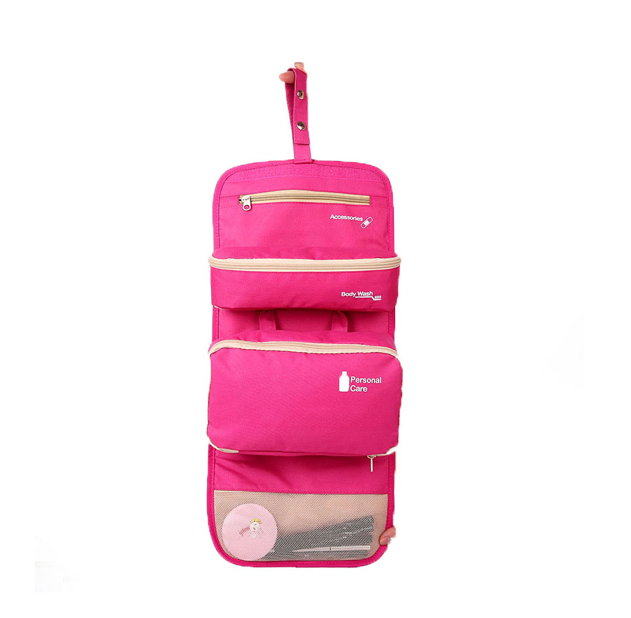 Maxfirm JJ.CIMI <strong>Cosmetic</strong>/ Makeup/ Toiletry Clear PVC Travel Wash Bag with handle