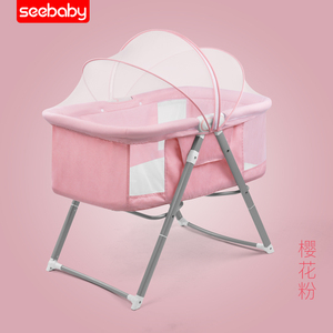 P2 adult baby crib baby crib rocker bed for baby 0-3 years