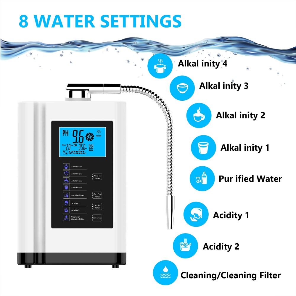 EHM hydrogen water ionizer inquire now on sale