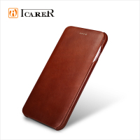 ICARER Genuine Leather Case For Apple iPhone 6 Plus / 6s Plus Real Leather Flip Cover For iPhone6 5.5 Inch