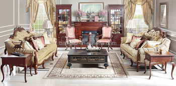 Antique Replica Style Living Room Furniture Set,British Style Retro  Upholstered Chesterfield Sofa - Buy English Classic Style Chesterfield ...