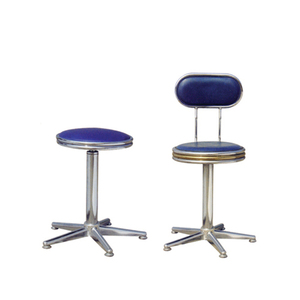 Adjustable height nurse stool lift bar chair