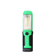 Factory supply rubberized ABS plastic portable 5LED battery operated magnetic flexible COB LED worklight with hook