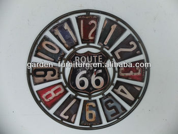 Metal wall plaque for home decoration metal craft art for Plaque murale decorative metal