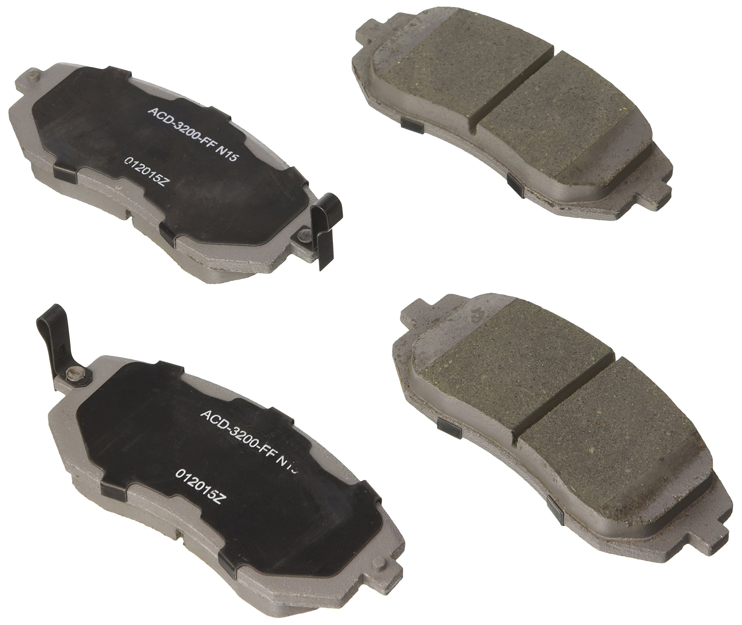 ACDelco 14D1363CH Front Ceramic Brake Pads