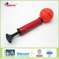 high quality basketball use inflator balloon pump anti burst exercise stability ball with pump