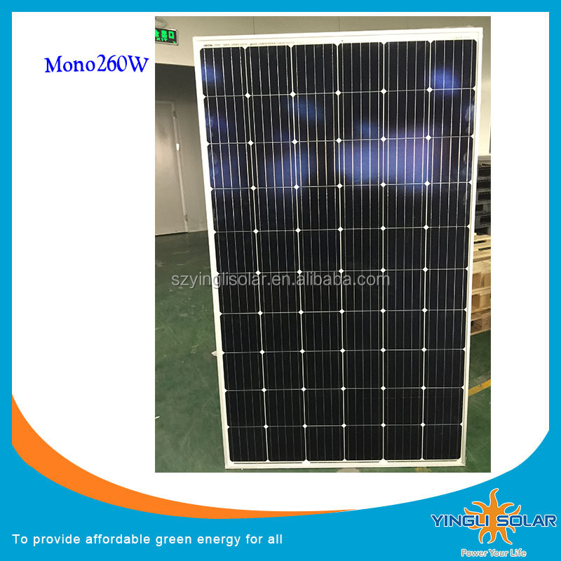 Solar panel 260W 265W PV Module for Roof Mouting home system