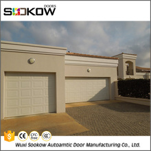 Factory sale steel side corner sliding folding residential garage door