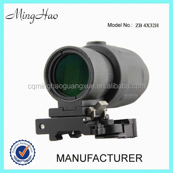 Minghao ZB 4X32H, 4x Red Dot Optical Electro Sight Riflescope