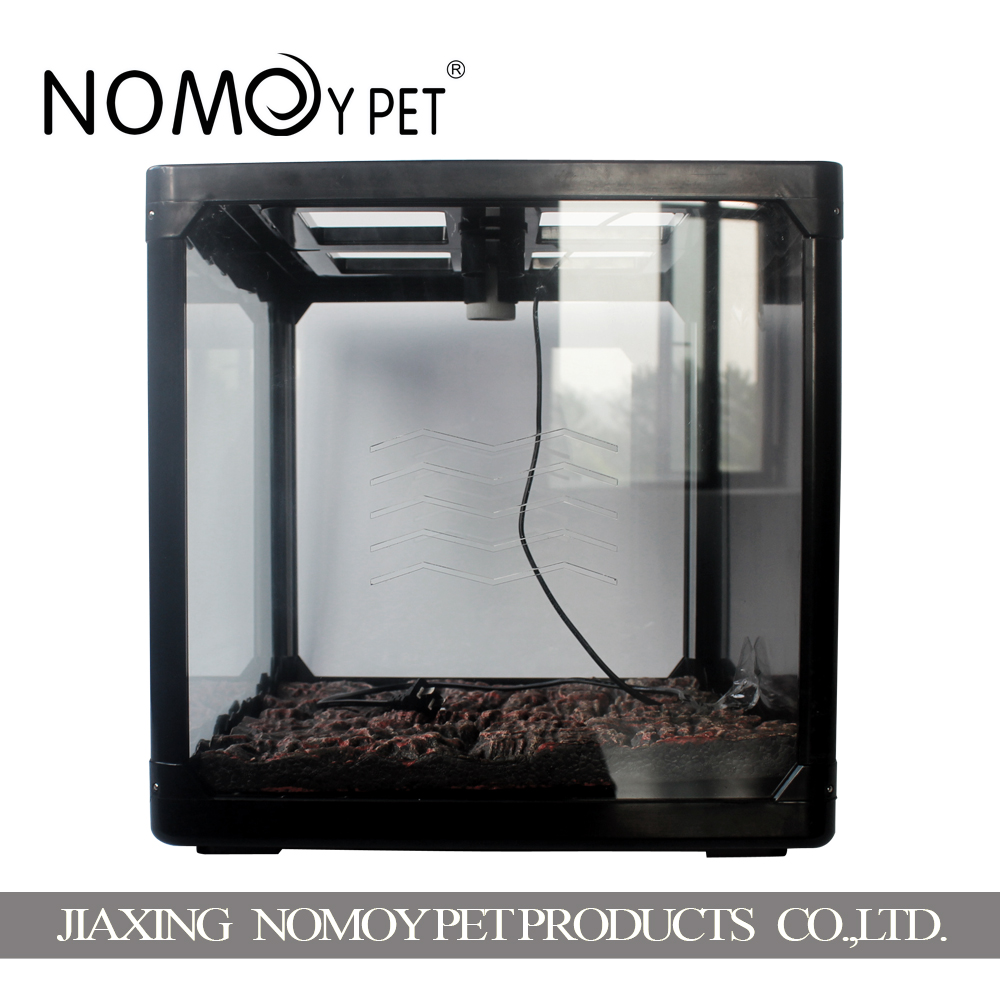 Nomoy <strong>pet</strong> 60/*40*40.5/70.5cm reptile screen cage breeding terrarium, with lampholder
