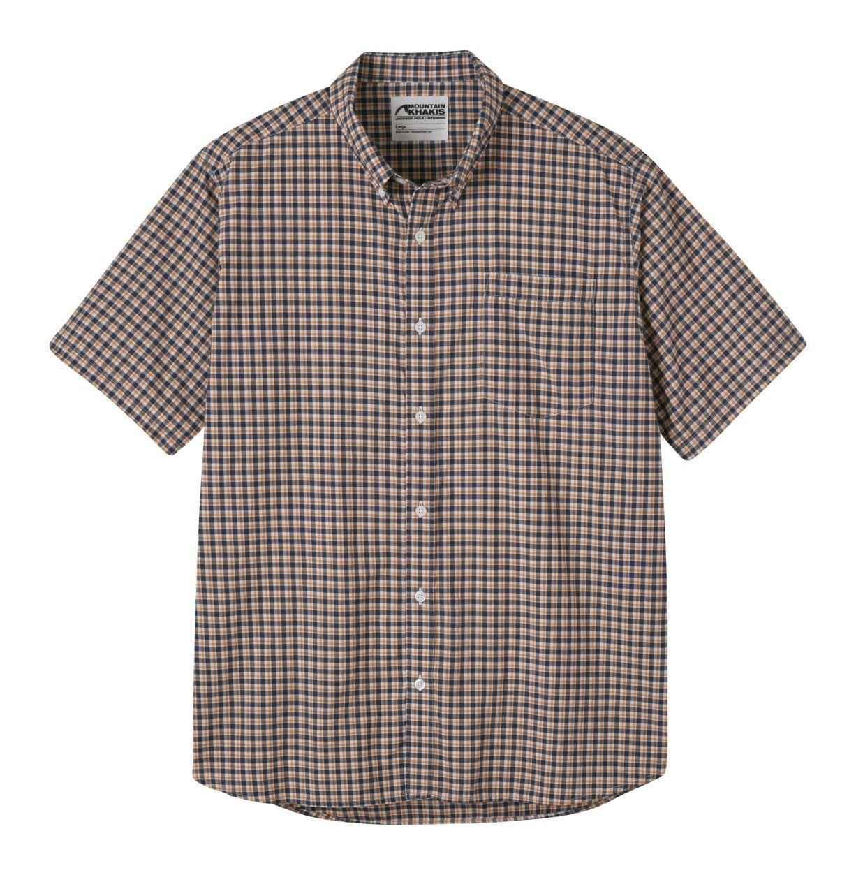 Mountain Khakis Spalding Gingham SS Shirt - Men's