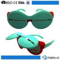 Vintage children sunglasses Prices Flip Up Polarized Circle Kids Custom Sun Shades Sunglasses