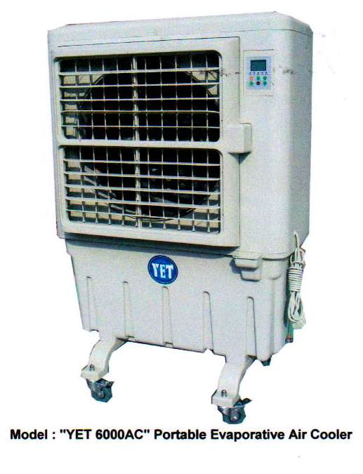 YET 6000AC Affordable Portable Mobile Evaporative Air Cooler (Malaysia)