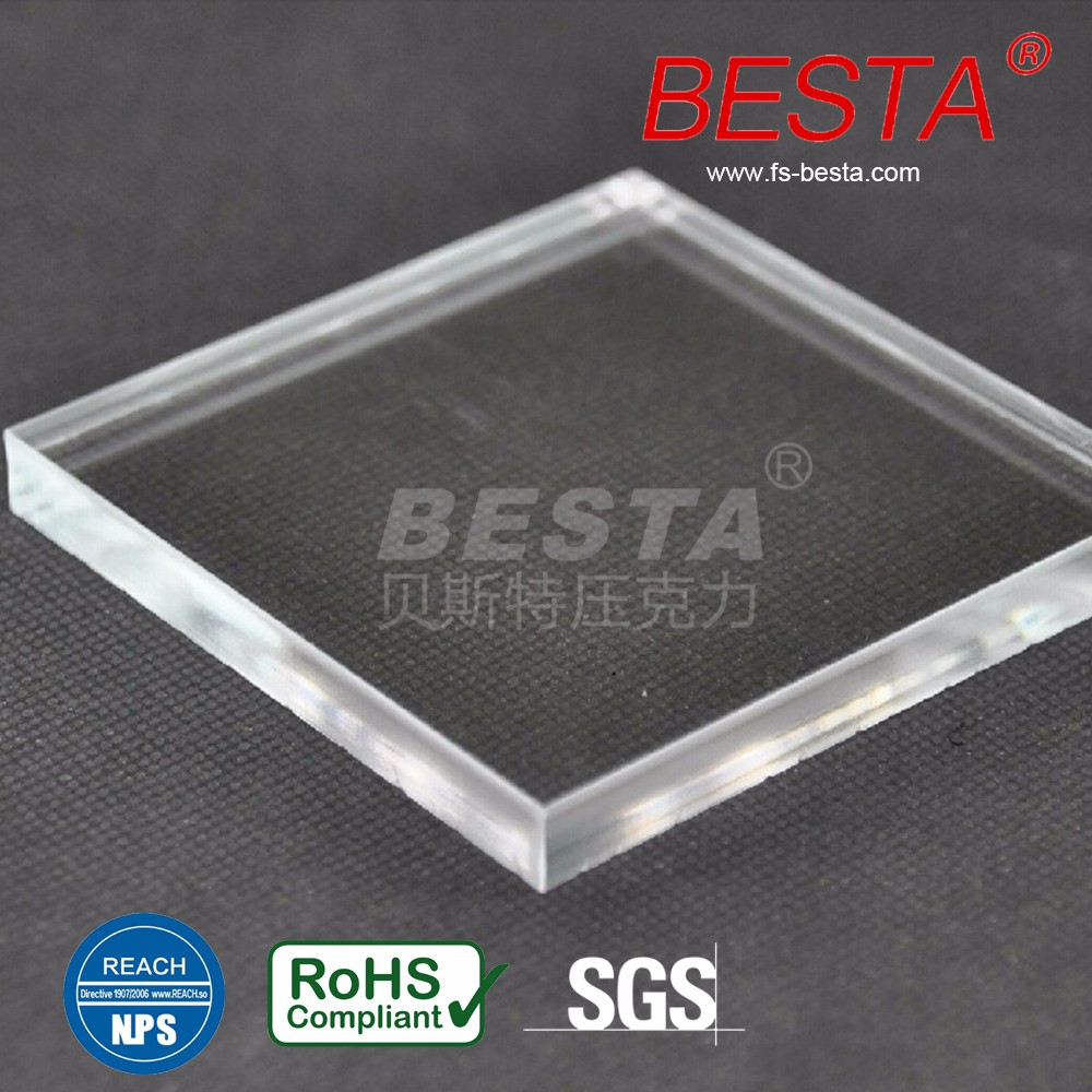 Clear High Transparent Price Per Kg Acrylic Resin Sheets For Aquarium