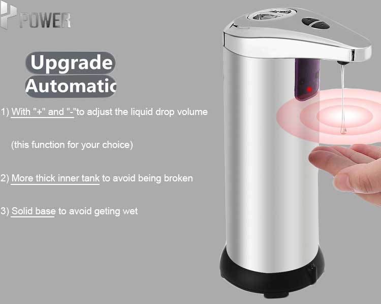 Wholesale  automatic dishwasher liquid sensor hygienic soap dispenser free standing surface mounted