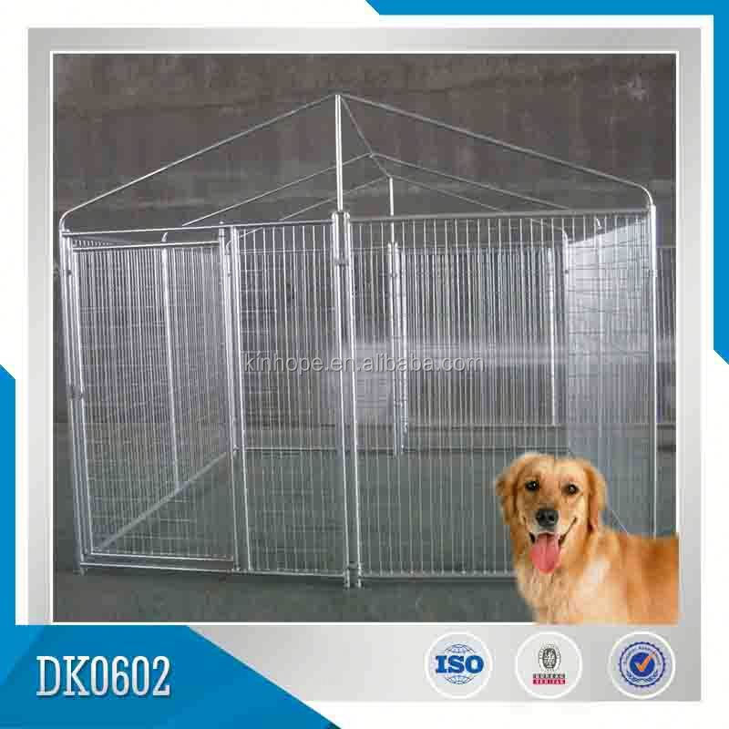 Direct From Factory Large Type Good Quality Galvanized Outdoor Dog Cage, Dog Kennel