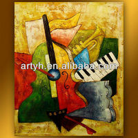New arrival fabric painting designs images for hall decor