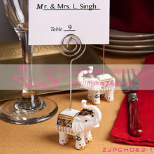 Wedding Decoration/ Resin Elephant Place Card Holders