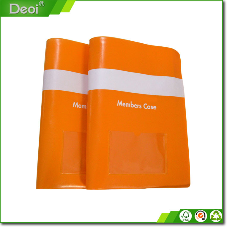 Shanghai factory custom pvc soft cover bestandsmap