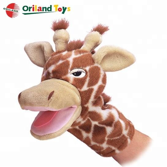 Дети ролевые игры Мягкие плюшевые енота реалистичные животных ручной куклы игрушки