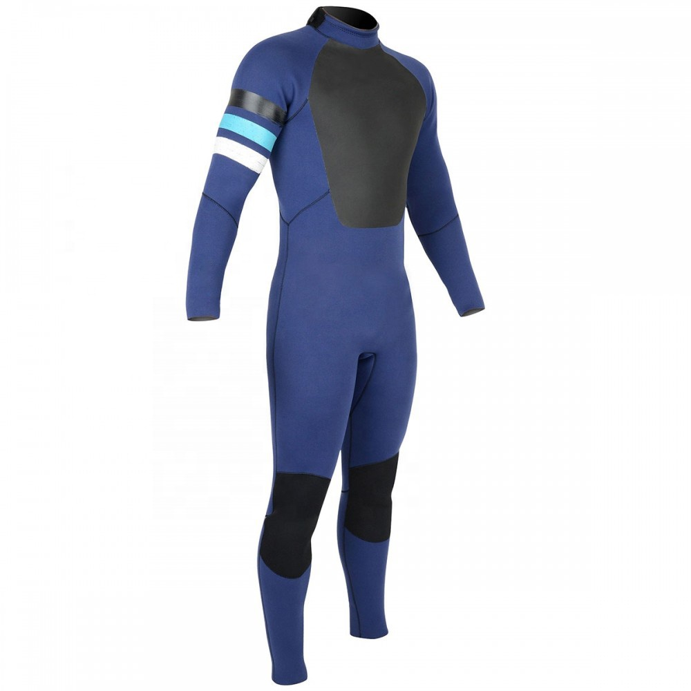 Cheaper Price Neoprene smooth skin back zip Wetsuit for surfing diving