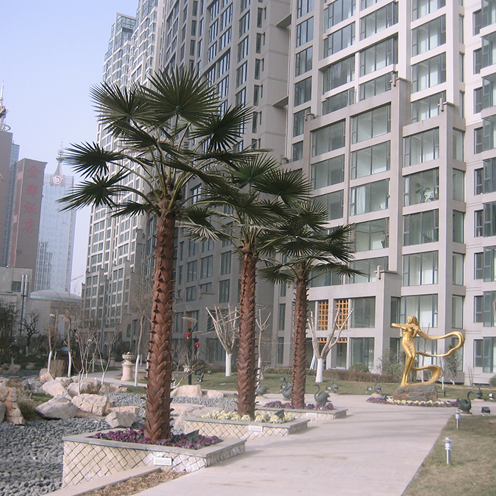 Fake Plastic Palm Tree\Large Outdoor Artificial Trees