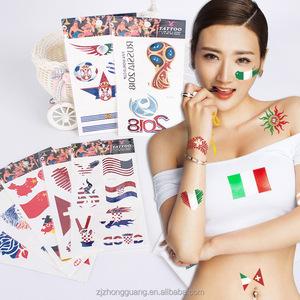 China Football Temporary Tattoo, China Football Temporary Tattoo ...