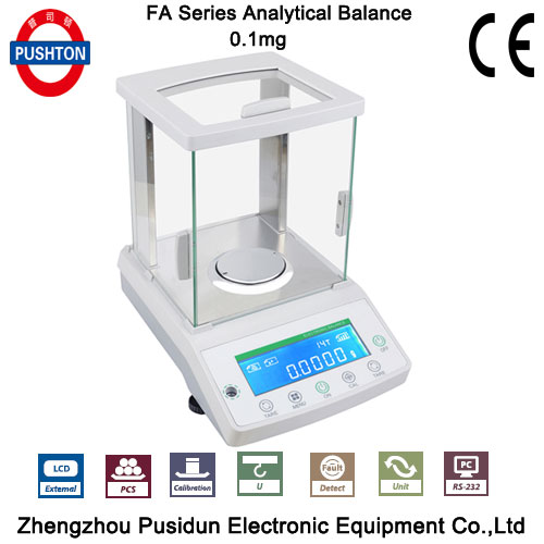 With CE Lab analytical precision <strong>balance</strong> 220g 0.0001g electronic scale digital 0.1mg scale