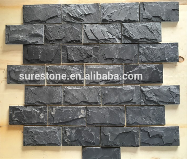 Wall Mushroom Slate stone /landscaping slate rocks