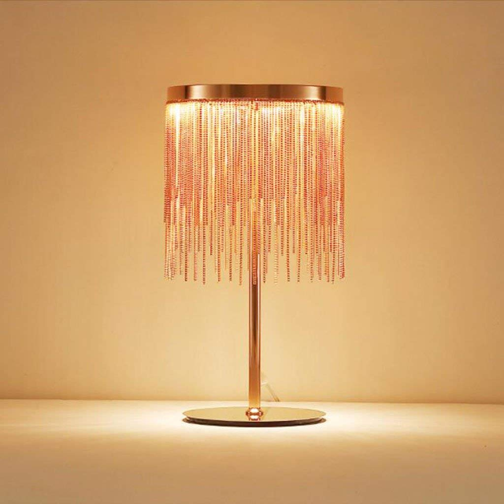 Le fu yan Post-modern fringe LED personality bedroom lamp living room lamp decorative lights (Size : A)