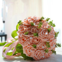 2014 hotsale table wedding decoration artificial flowers,wedding decoration flower stand(AM-WB05)
