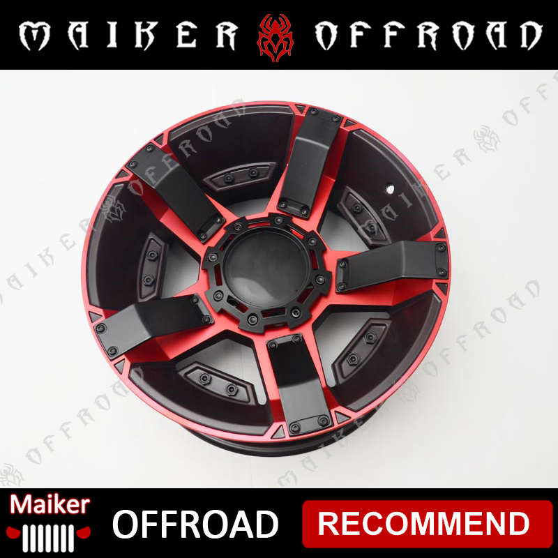 Safe Alloy wheel rims for Jeep Wrangler accessories from Guangzhou